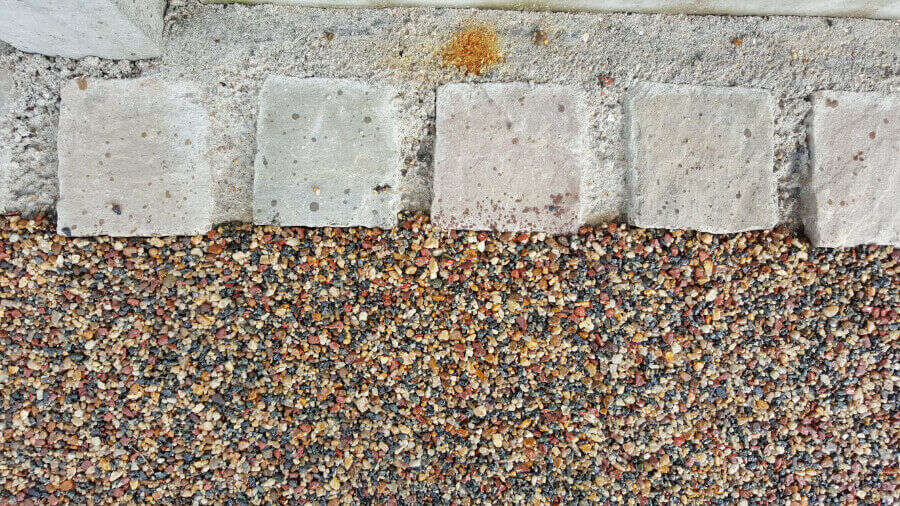 Resin Wize Edging of Driveway