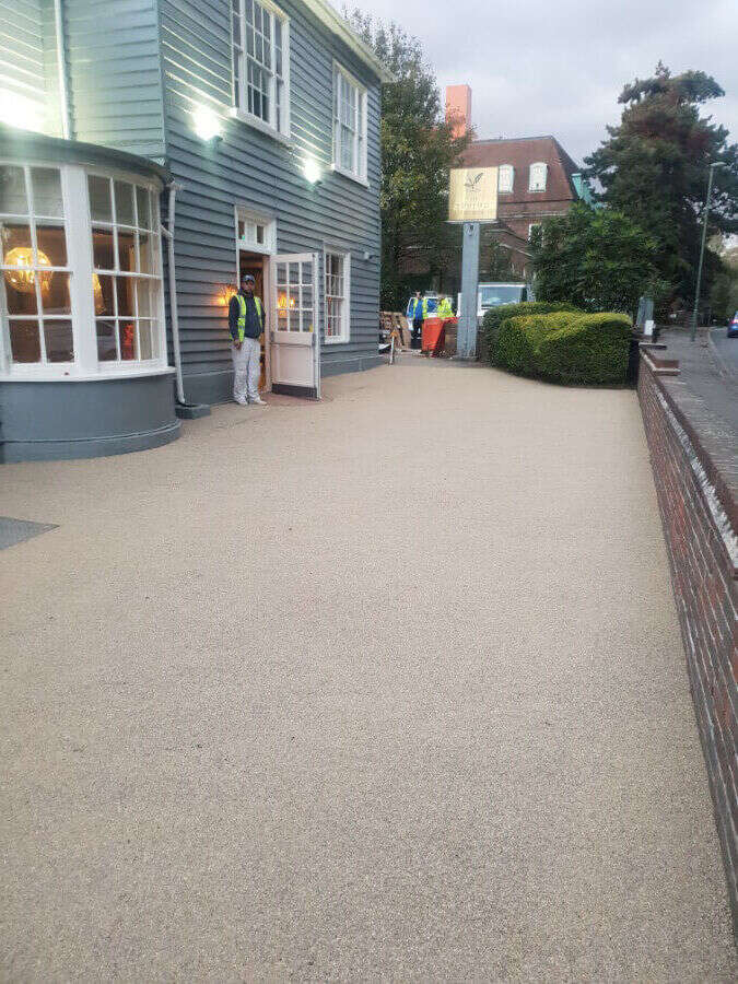 resin driveways Resin Wize southend on sea