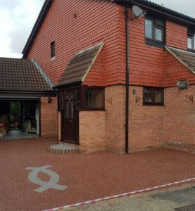Resin Wize Resin Driveway by house