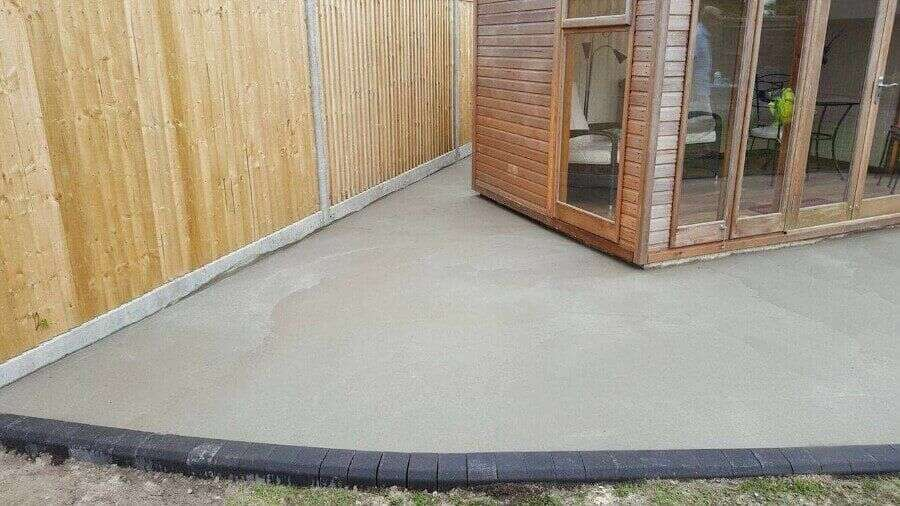 Resin Wize resin patio