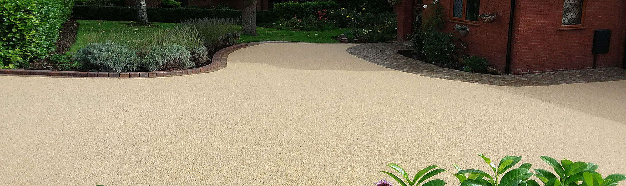 Resin Wize Sand Coloured Driveway