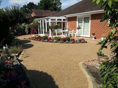 One of our quality driveways in Hampshire.