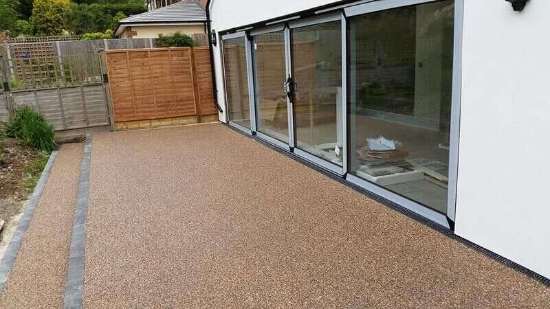 Quality resin bound patios in Christchurch